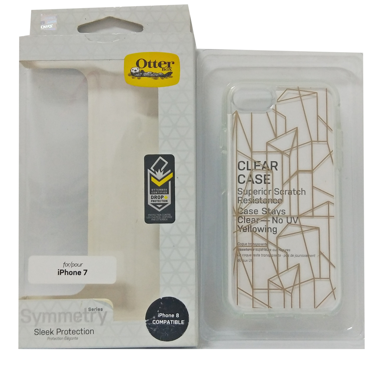OtterBox-Symmetry-for-iPhone-8-7-Slim-Raised-Edge-One-Piece-Case-All-Colours-DF miniature 21