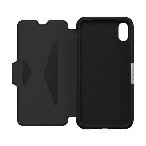 OtterBox-Strada-iPhone-Xs-Max-Genuine-Leather-Folio-Card-Slot-Case-All-Colour-VS thumbnail 13