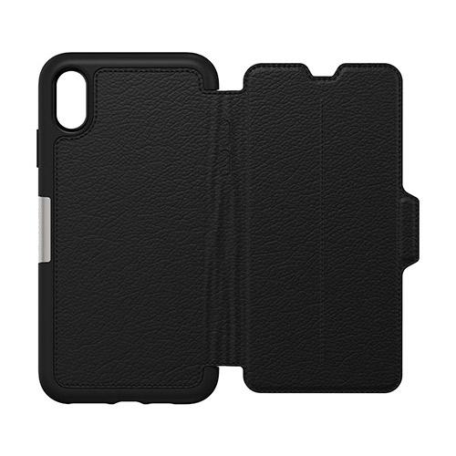 OtterBox-Strada-iPhone-Xs-Max-Genuine-Leather-Folio-Card-Slot-Case-All-Colour-VS thumbnail 15