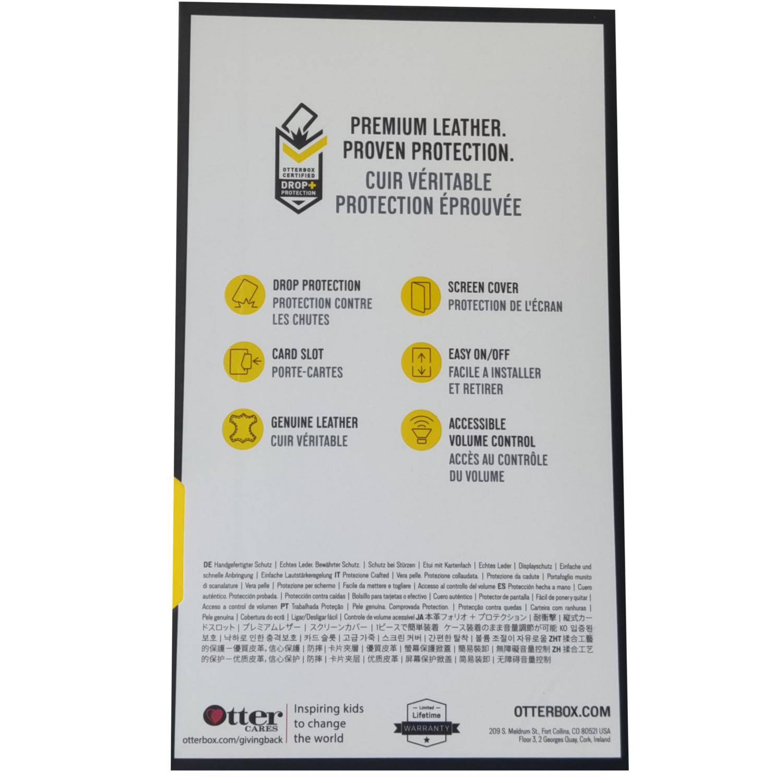 OtterBox-Strada-iPhone-Xs-Max-Genuine-Leather-Folio-Card-Slot-Case-All-Colour-VS thumbnail 6
