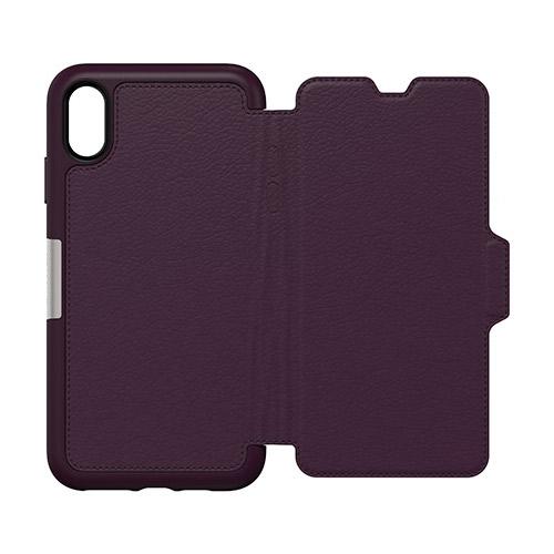 OtterBox-Strada-iPhone-Xs-Max-Genuine-Leather-Folio-Card-Slot-Case-All-Colour-VS thumbnail 10