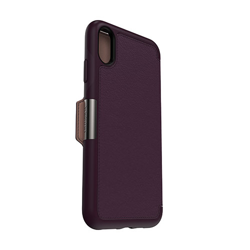 OtterBox-Strada-iPhone-Xs-Max-Genuine-Leather-Folio-Card-Slot-Case-All-Colour-VS thumbnail 11