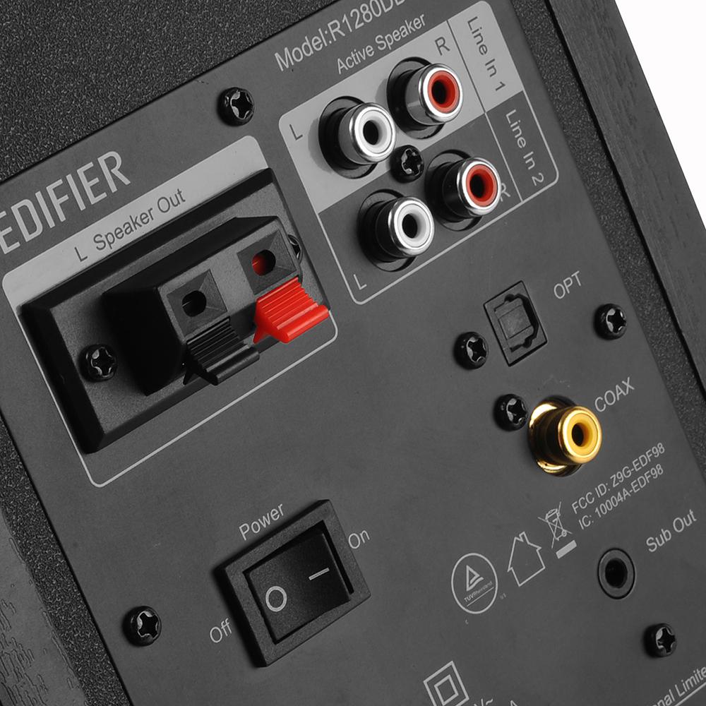 thumbnail 10 - Edifier R1280DBS Bookshelf Bluetooth 5.0 Speakers Classic Design All Colours VS