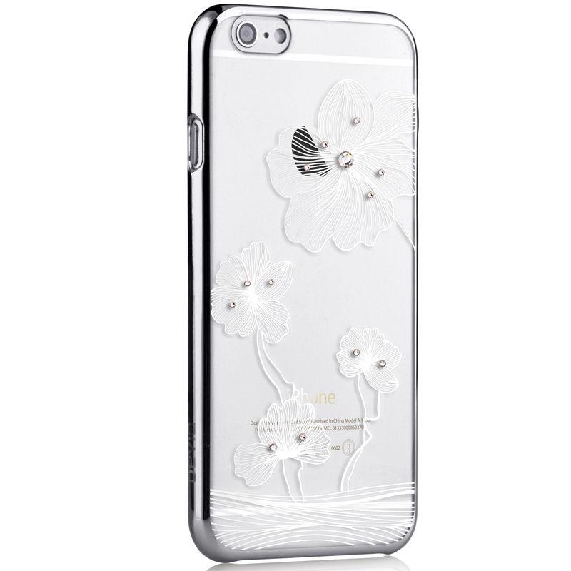 the latest f14cb 12323 Comma Crystal Flora W Swarovski Element Elegant Case iPhone 6 6s Plus 5.5