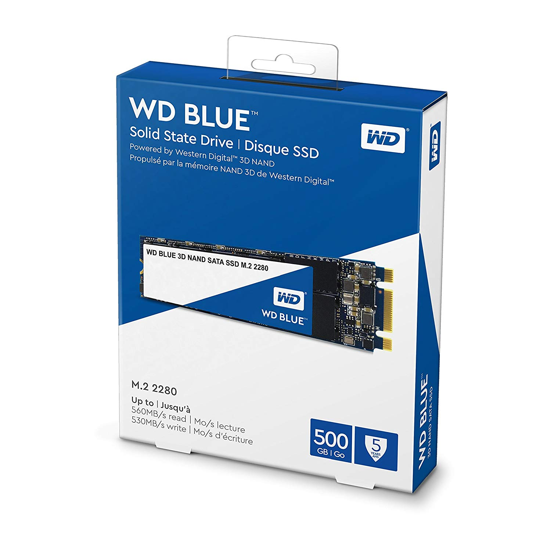 Western-Digital-WD-Blue-3D-NAND-Internal-SSD-M-2-2280-SATA-6GBs-VS thumbnail 7