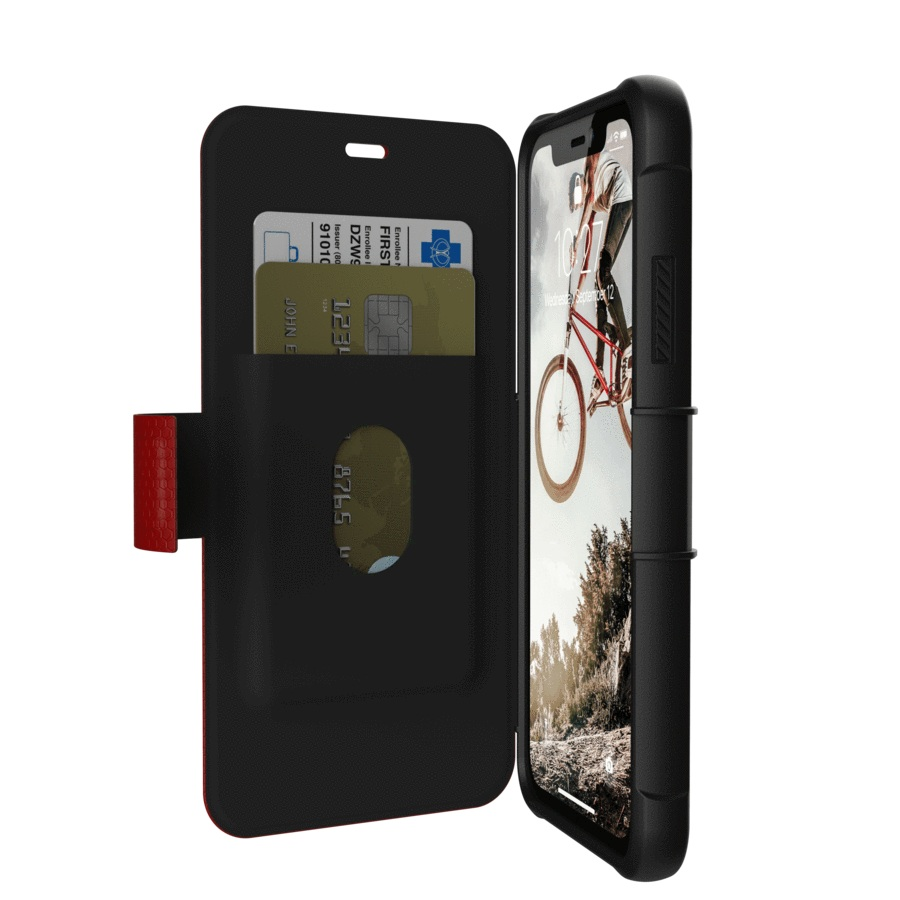 UAG-Metropolis-for-iPhone-XR-Card-Slot-Folio-Wallet-Case-All-Colours-SZ thumbnail 13