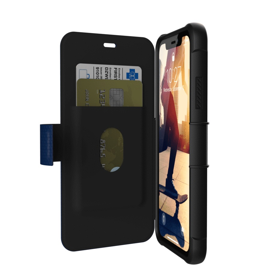 UAG-Metropolis-for-iPhone-XR-Card-Slot-Folio-Wallet-Case-All-Colours-SZ thumbnail 8