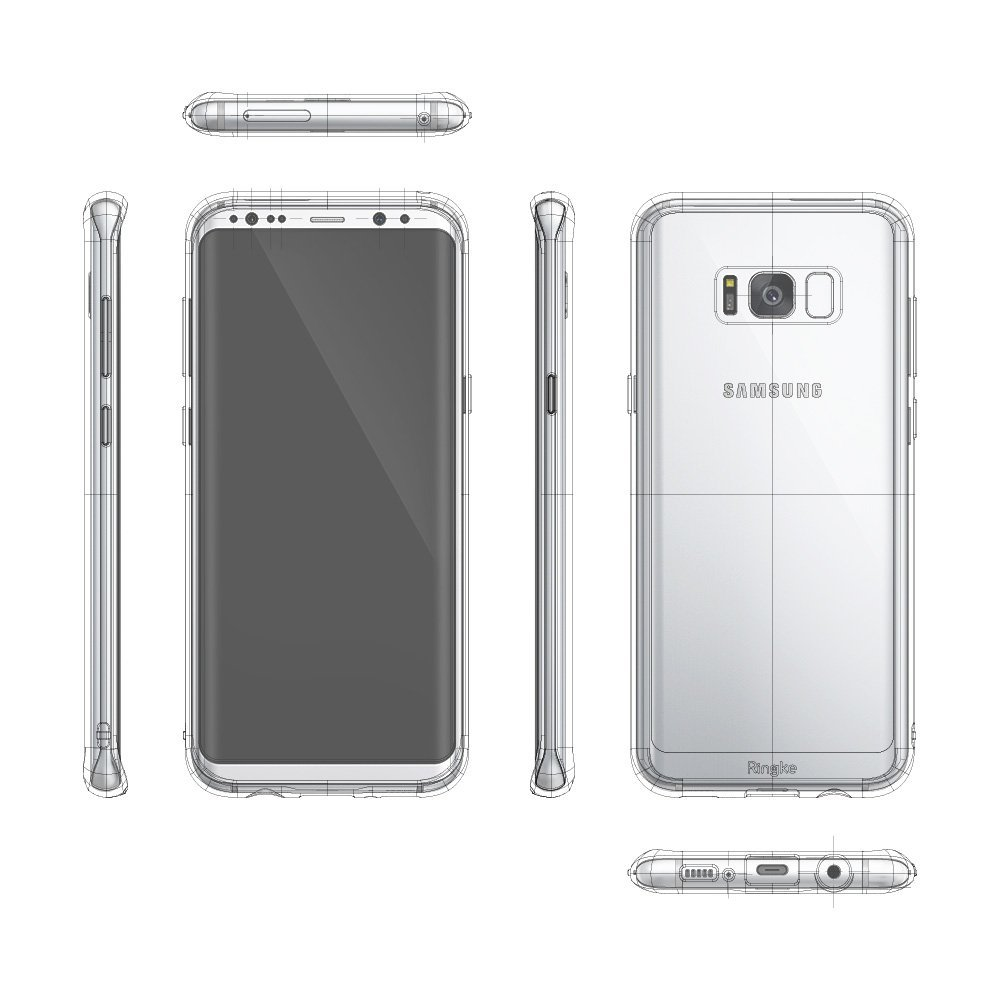 Ringke-Fusion-Impact-Absorption-Case-for-Samsung-Galaxy-S8-Plus-All-Colours-DI thumbnail 23