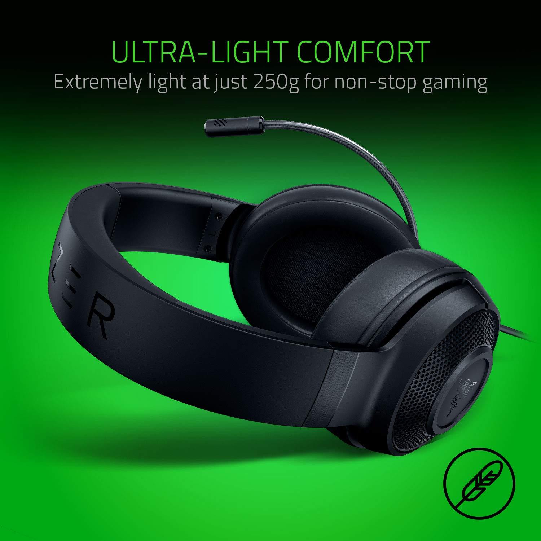 Razer-Kraken-X-Console-Ultralight-7-1-Gaming-Headset-w-Microphone-All-Colours-VS thumbnail 7