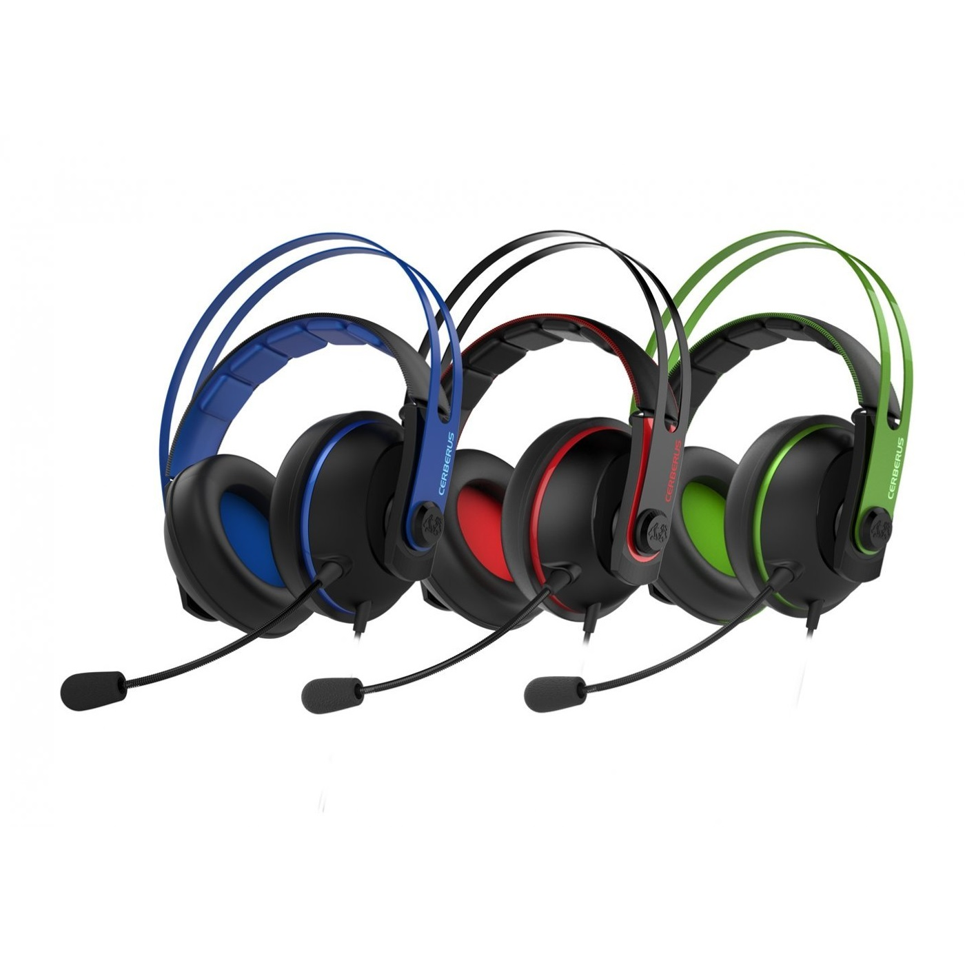 4ca94501d33 ASUS Cerberus V2 Gaming Headset Mic 3.5mm Mac PC PS4 Xbox One All ...