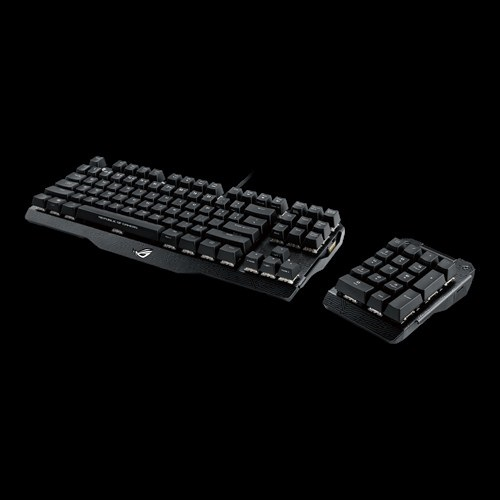 Asus-Claymore-Aura-Sync-RGB-Mechanical-Gaming-Keyboard-Cherry-MX-All-Switches-DI thumbnail 11