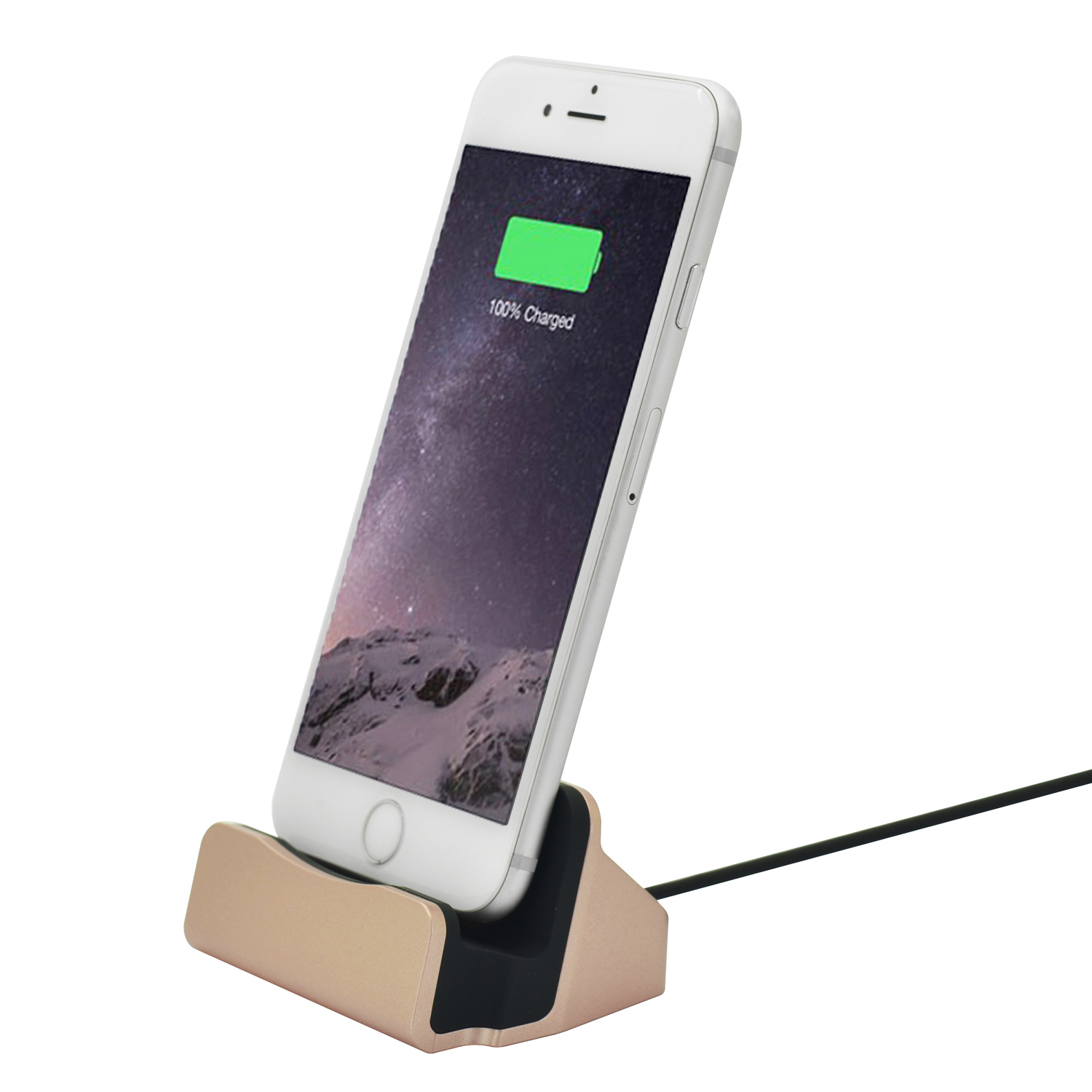 charging sync dock station holder stand docking charger for iphone 5 6 7 ts. Black Bedroom Furniture Sets. Home Design Ideas