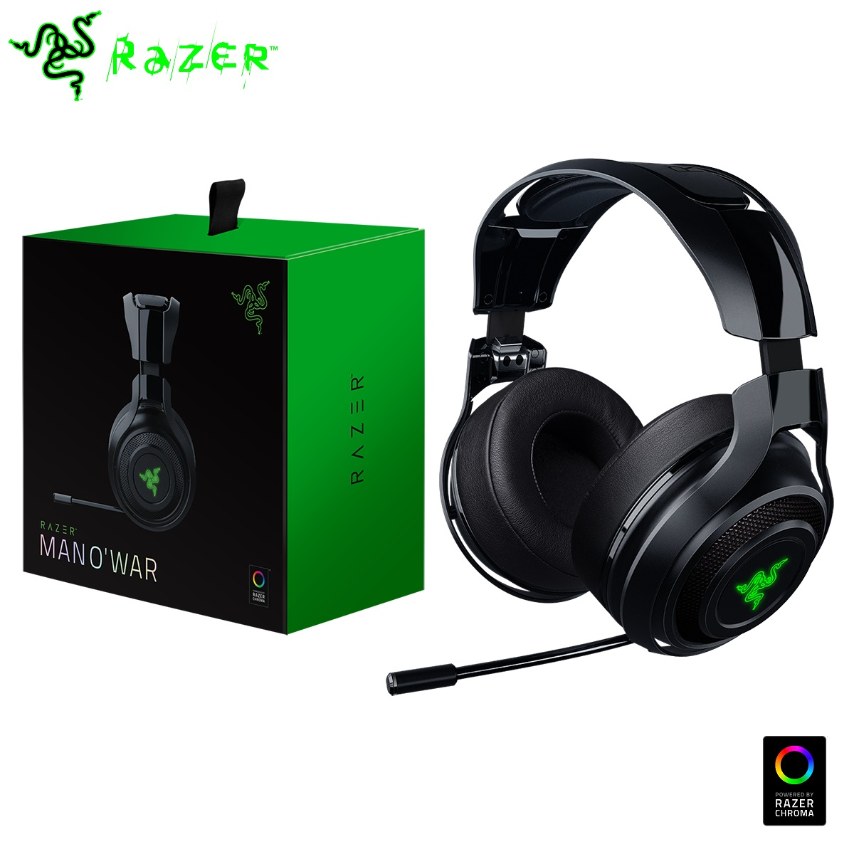 razer mano 39 war 2016 kabellos 7 1 surround sound spiele. Black Bedroom Furniture Sets. Home Design Ideas