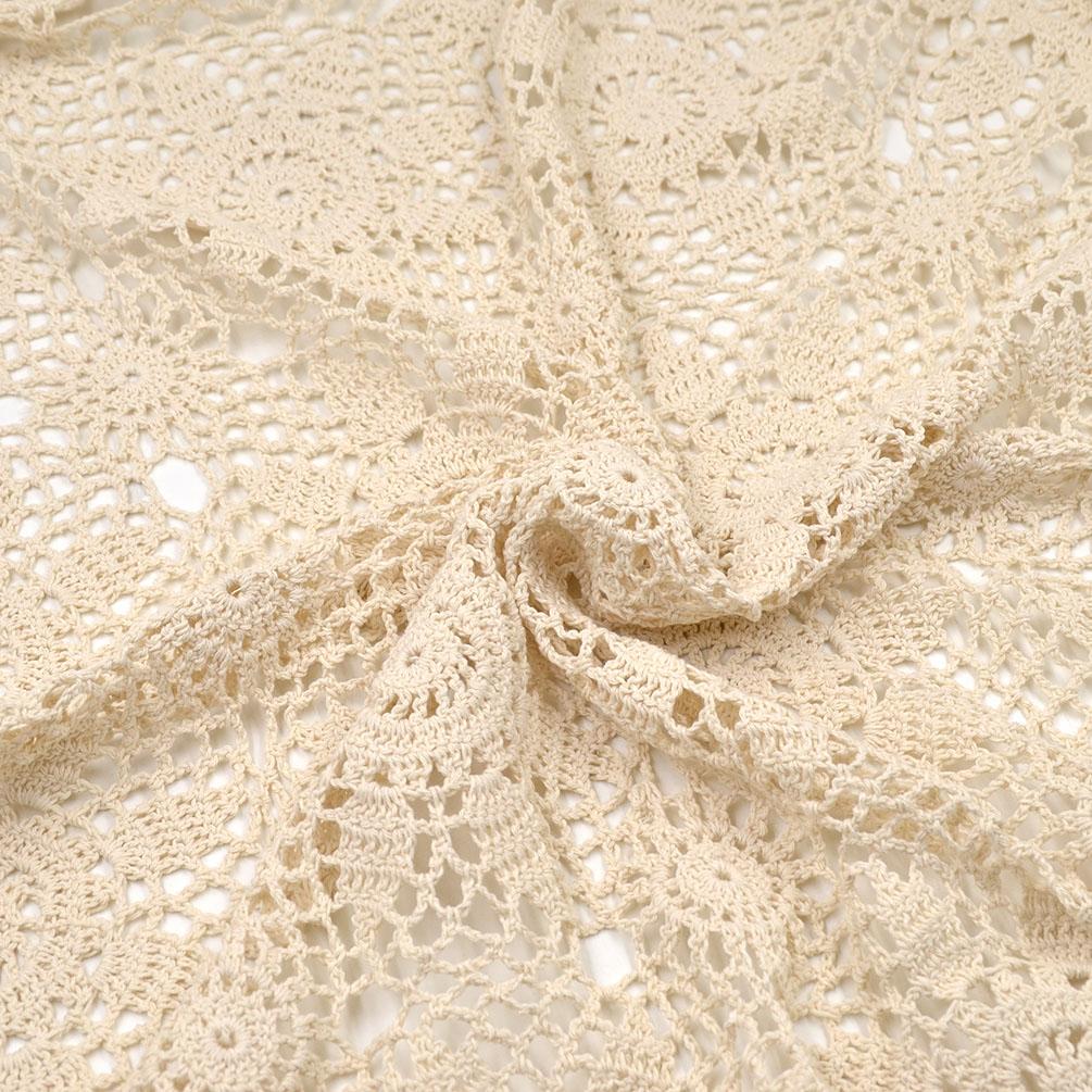 Vintage Crochet Lace Doilies Placemat Tablecloth Table