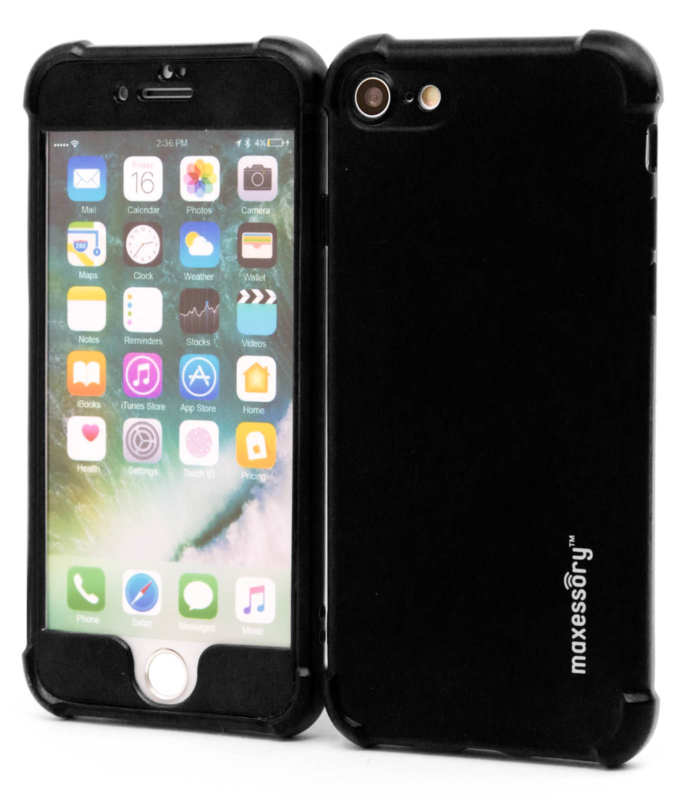 Apple-iPhone-7-iPhone-8-Ultra-Thin-Protector-Full-Body-Hard-Cover-Case thumbnail 5