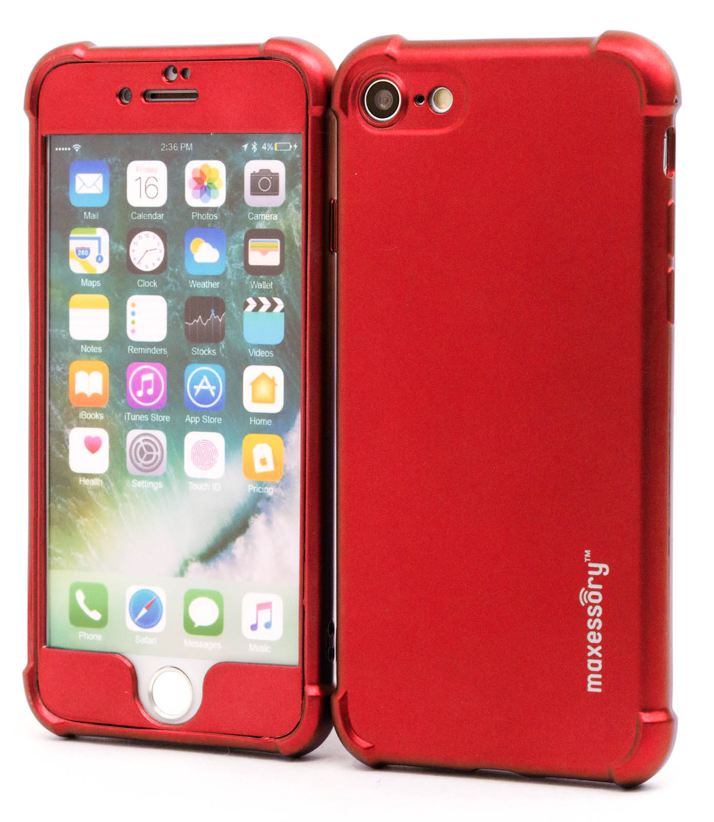 Apple-iPhone-7-iPhone-8-Ultra-Thin-Protector-Full-Body-Hard-Cover-Case thumbnail 29