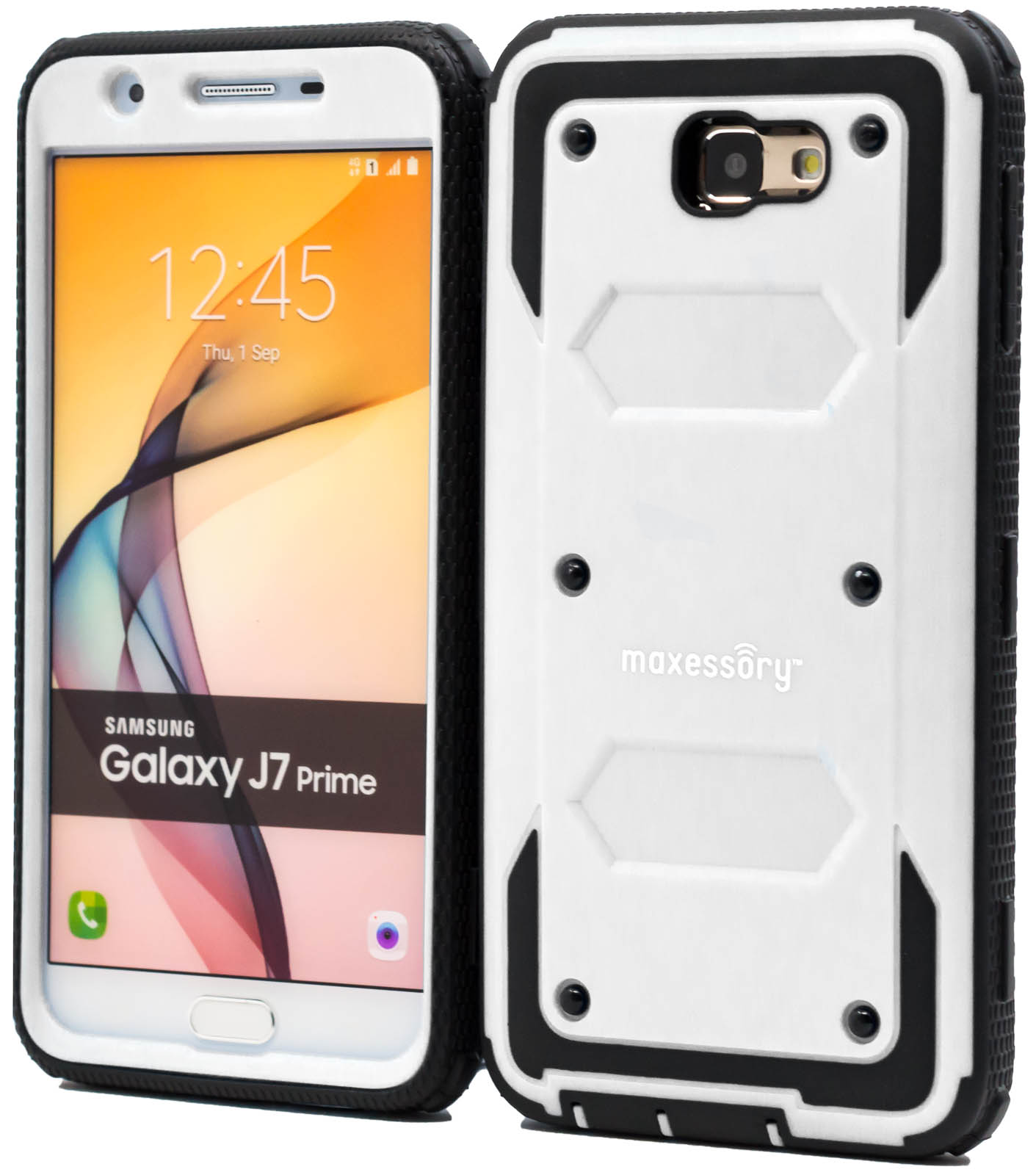 Hard Rubber Hybrid Protector Armor Cover for Samsung