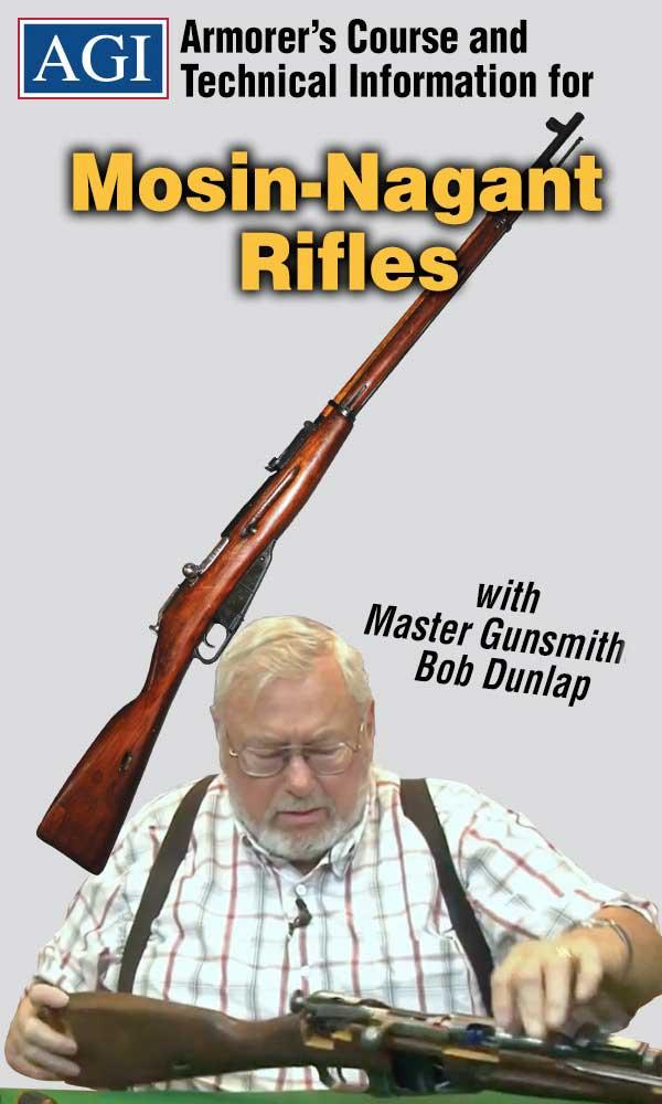 Details about AGI Mosin Nagant Rifle Armorers Gunsmith Repair Assembly &  Disassembly DVD