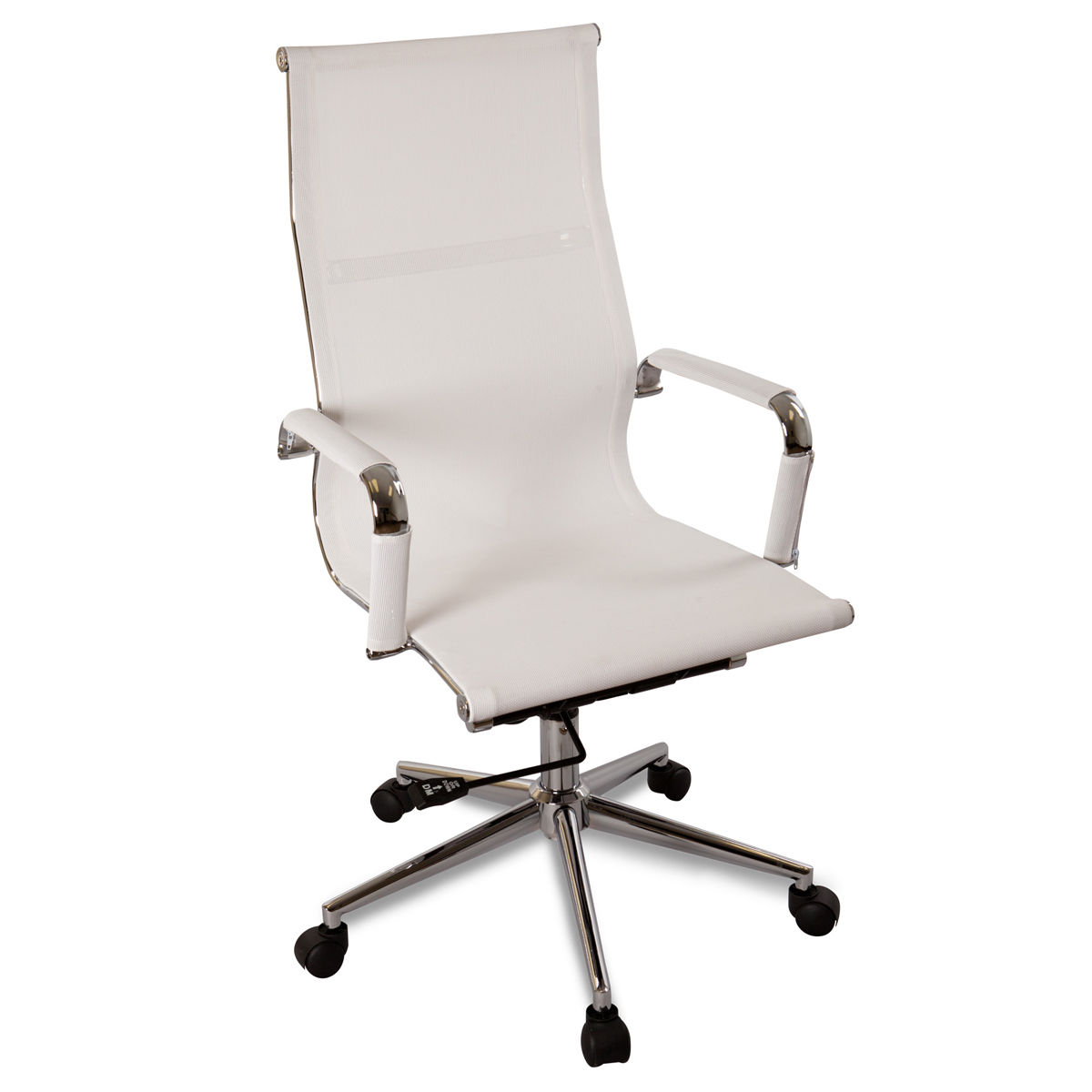 Details About New White Modern Ergonomic Mesh High Back Executive Computer Desk Office Chair