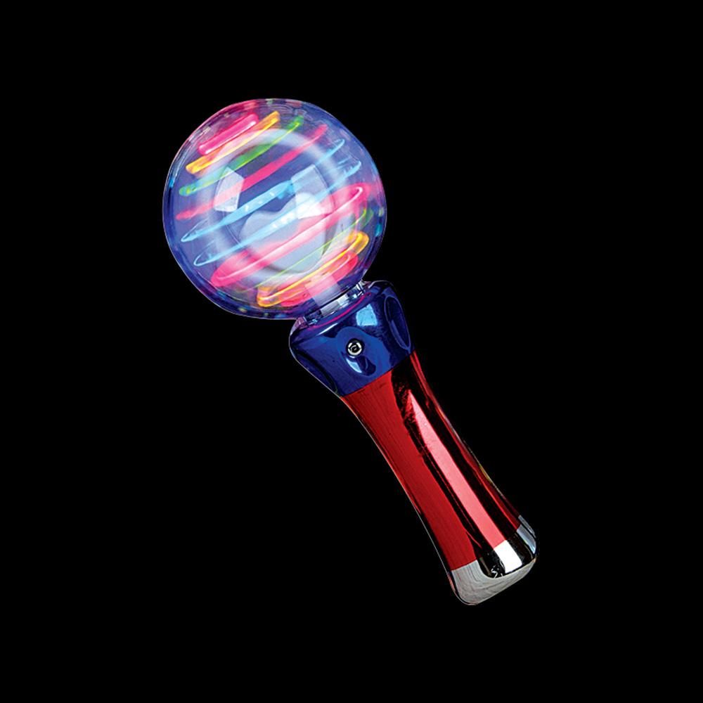 New flashing light up rave party toy spinning led wand ebay for Light up fishing spinners