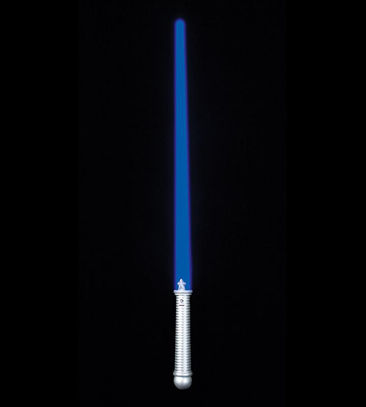 10 Led Flashing Toy Sci Fi Light Swords For Kids Blue