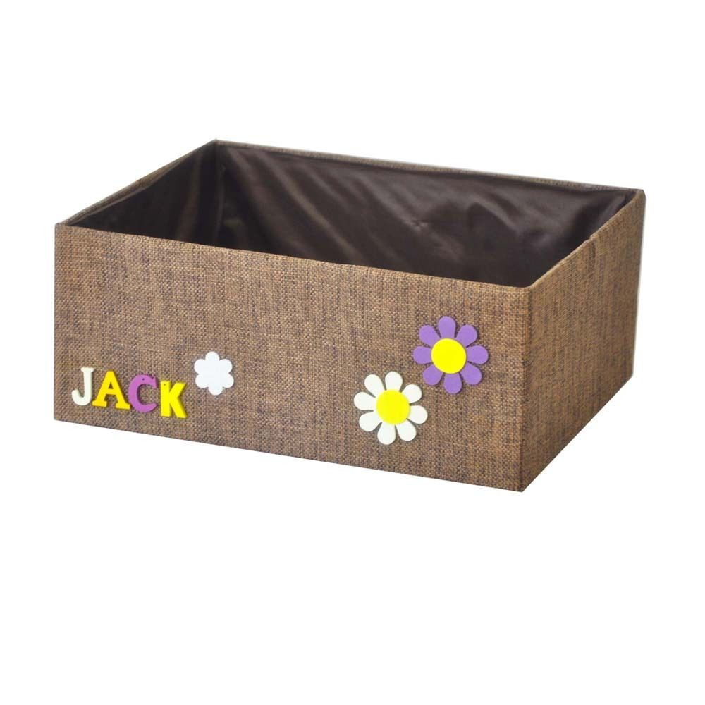 Canvas Storage Boxes For Wardrobes: 9L Foldable Storage Box Bag Clothes Blanket Closet Sweater
