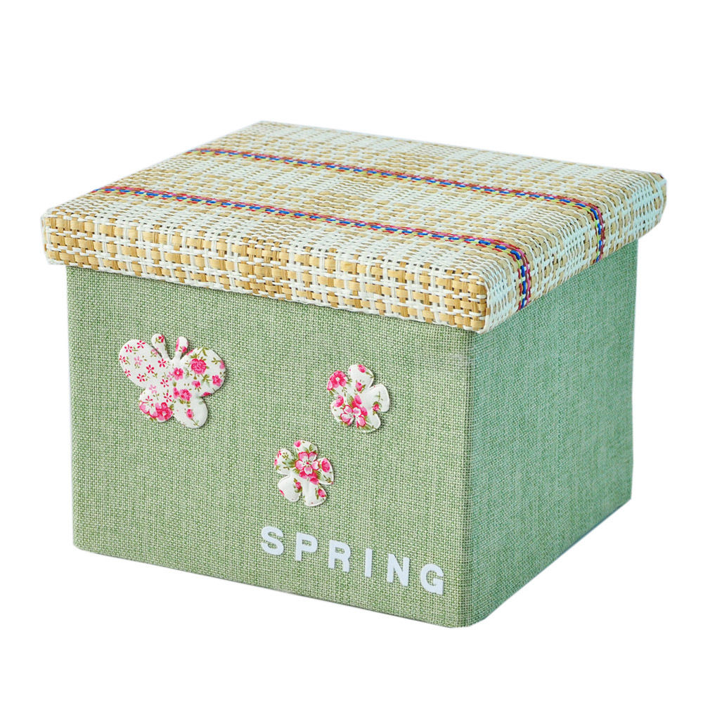 Canvas Storage Boxes For Wardrobes: 10L Foldable Storage Box Bag Clothes Blanket Closet
