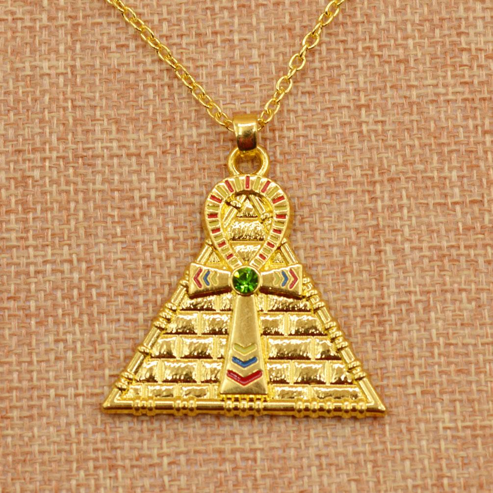 Vintage Egyptian Ankh Cross Symbol Of Life Pendant ...  Vintage Egyptia...