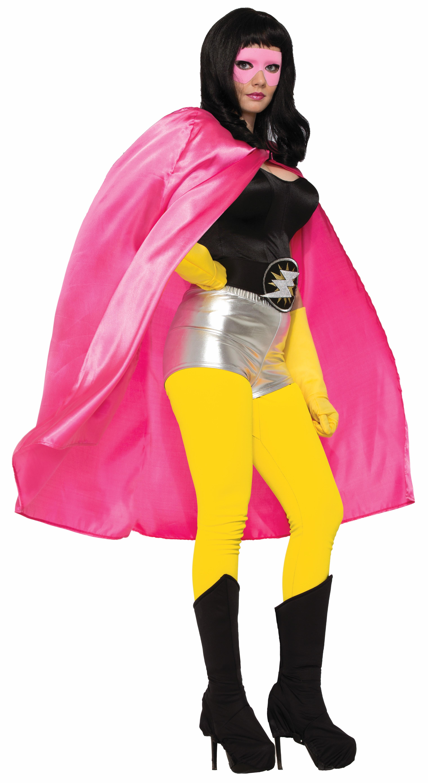 Adult Super Hero Costume Cape Men Women Halloween Villain -3643