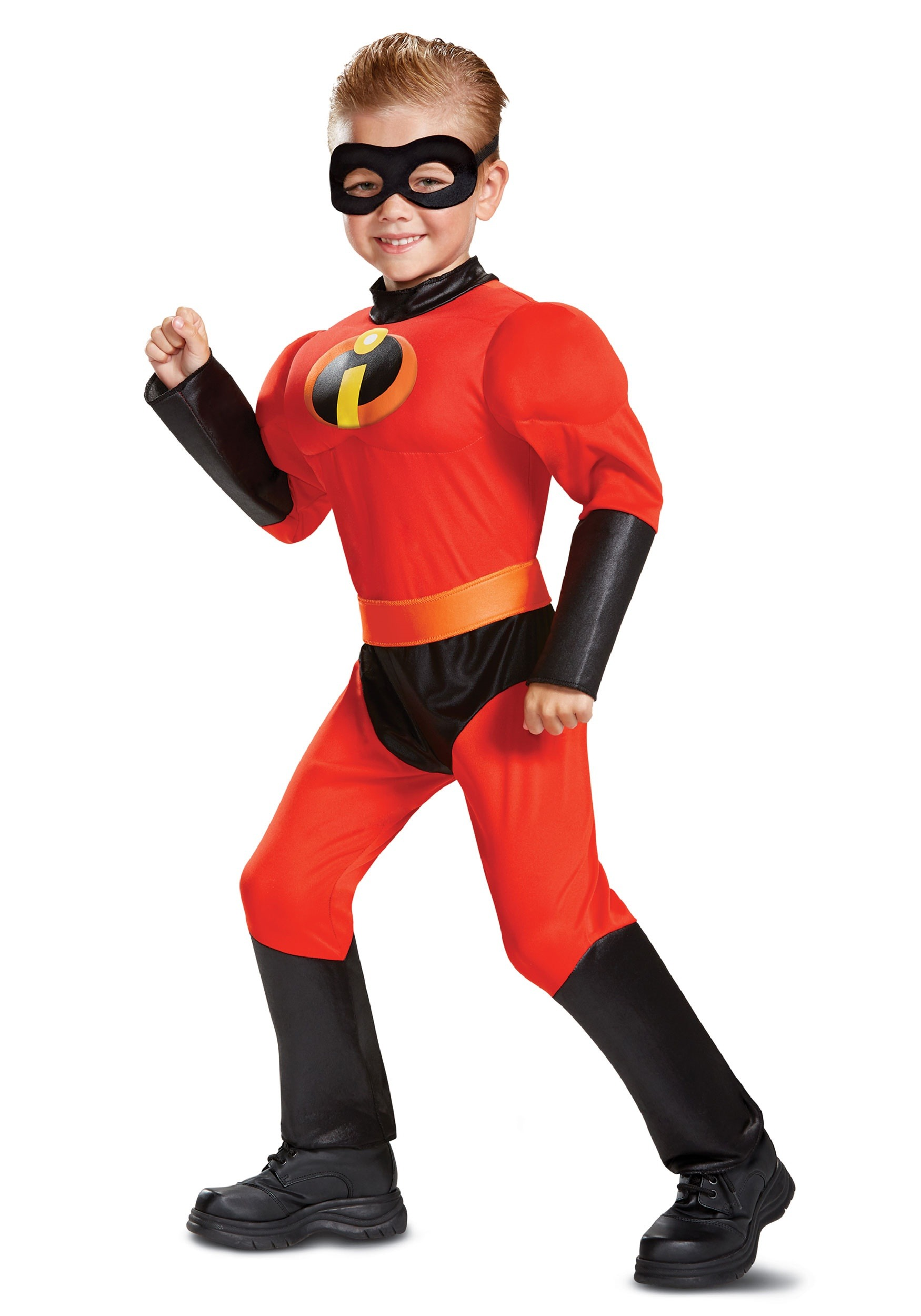 Disney Incredibles 2 Dash Classic 3T-4T Toddler Boys Costume Muscle  Licensed | eBay