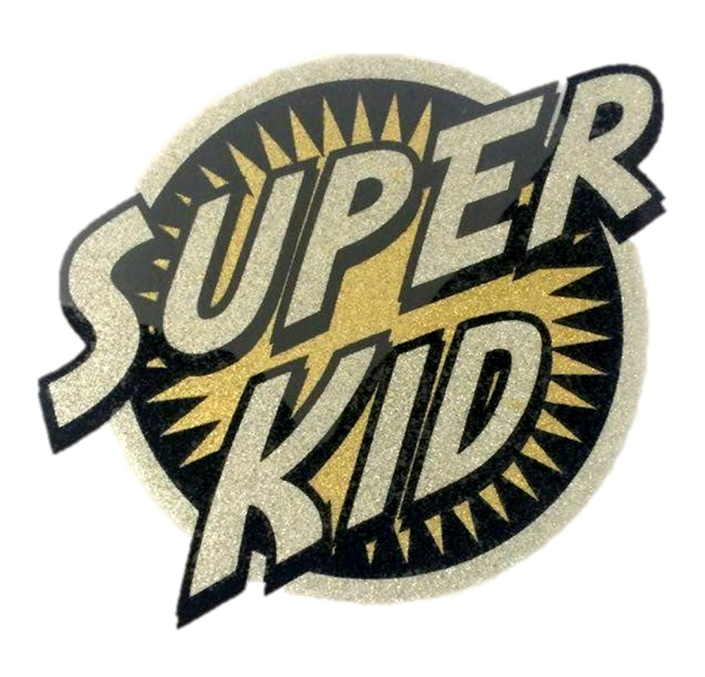 Heat Transfer Super Babe Iron On Shirt Applique Patch Funny Superhero Decal