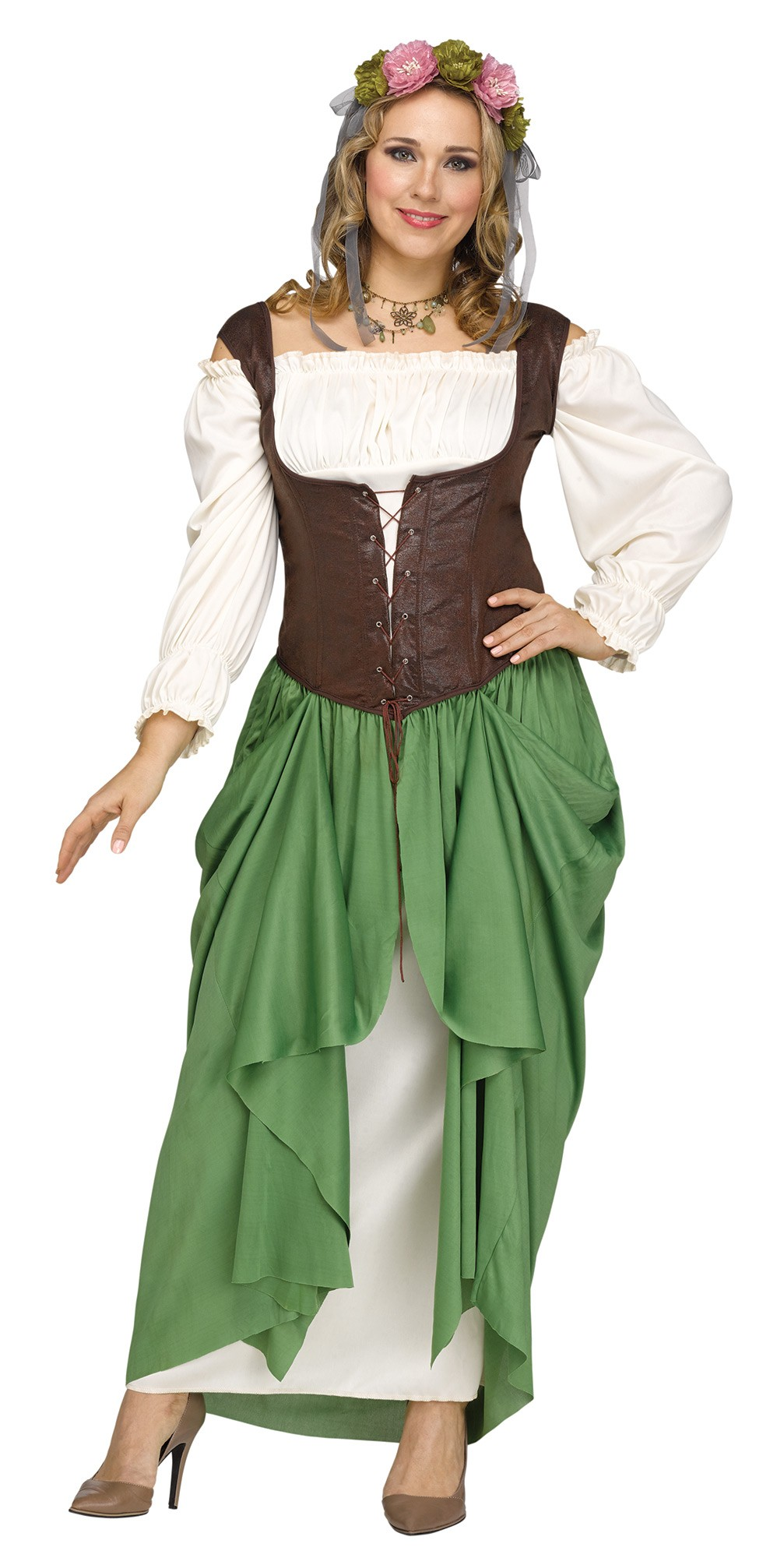 2nd Hand Bar Wench Costume Sold As Is