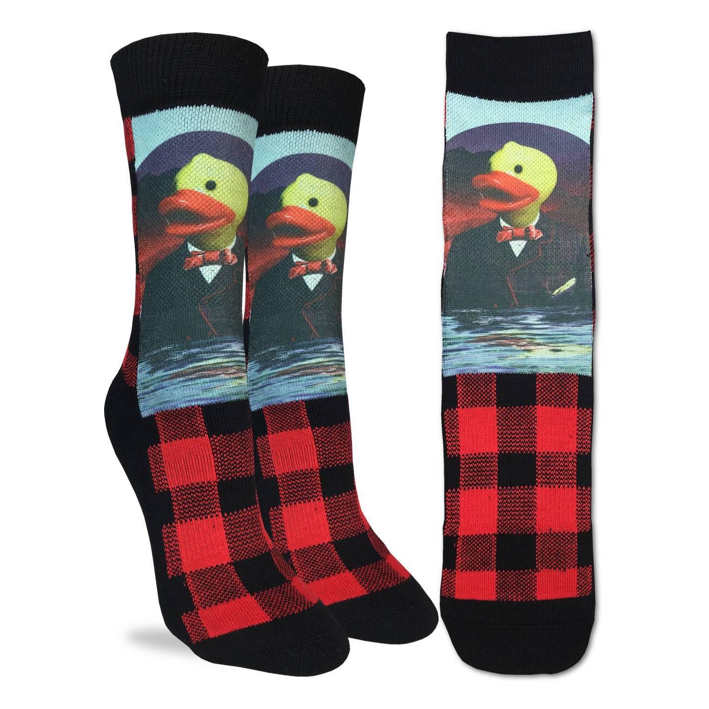 Green Adult Shoe Size 5-9 Good Luck Sock Womens Troll Dolls Socks