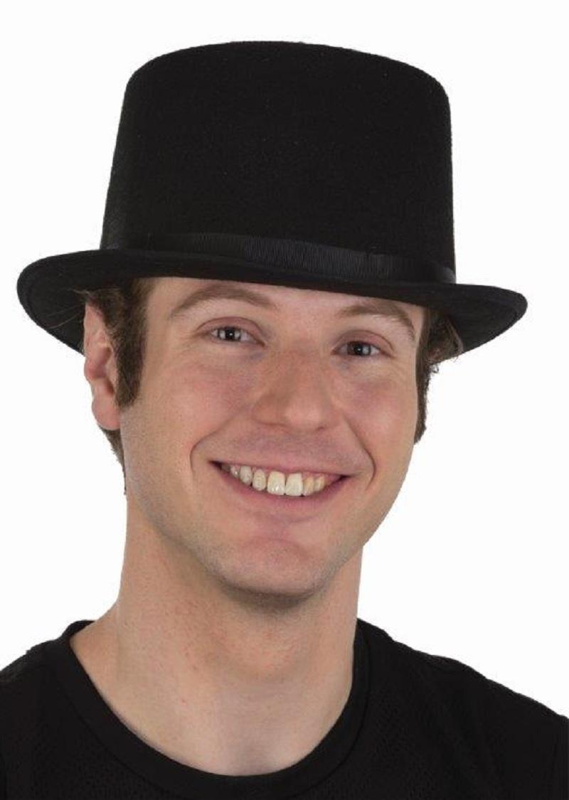 SteamPunk Black Suede Victorian Coachman/'s Hat NEW UNWORN