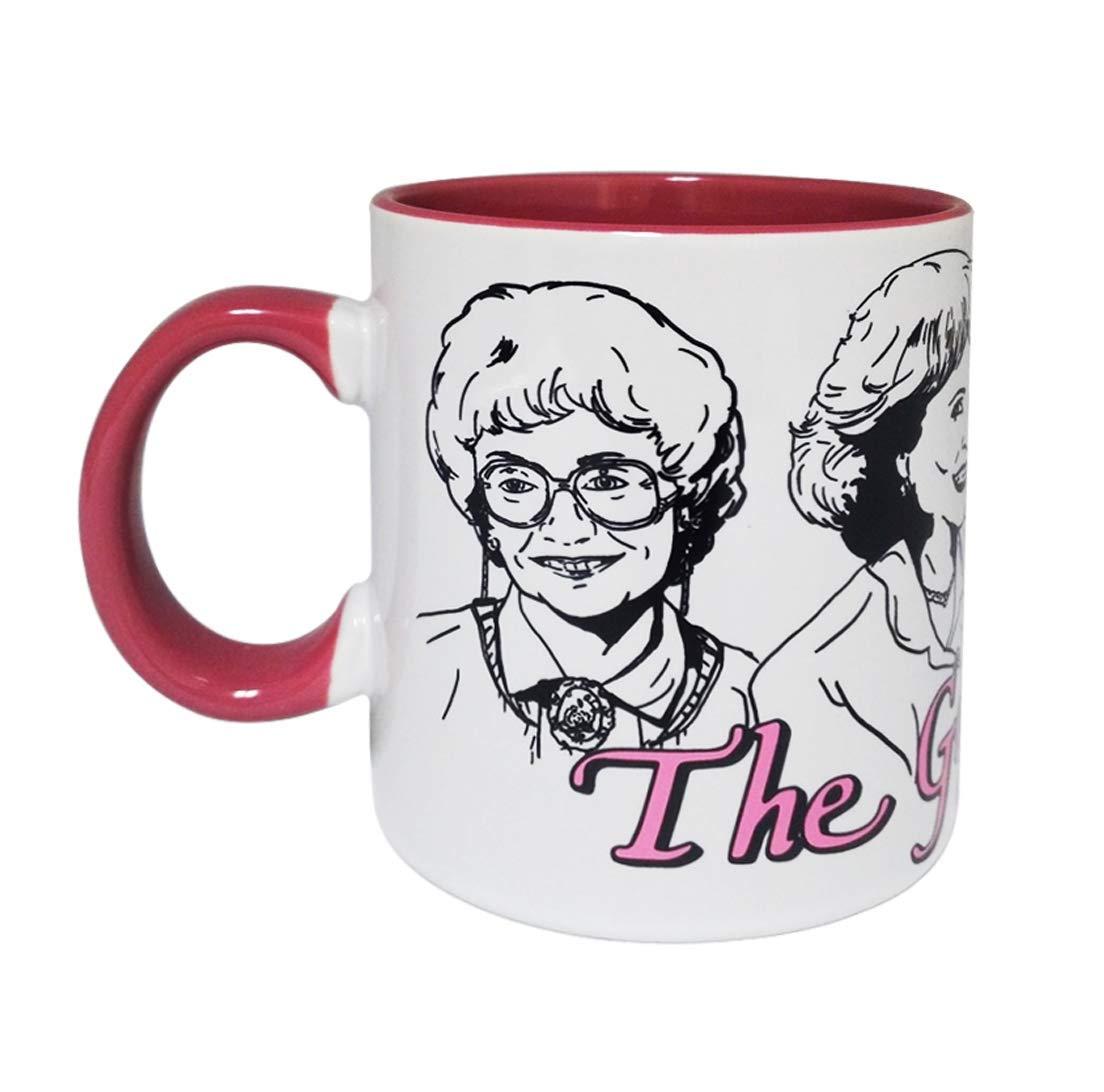 ff36ec1a32d The Golden Girls 16oz Ceramic Coffee Mug Sophia Rose Blanche Dorothy ...