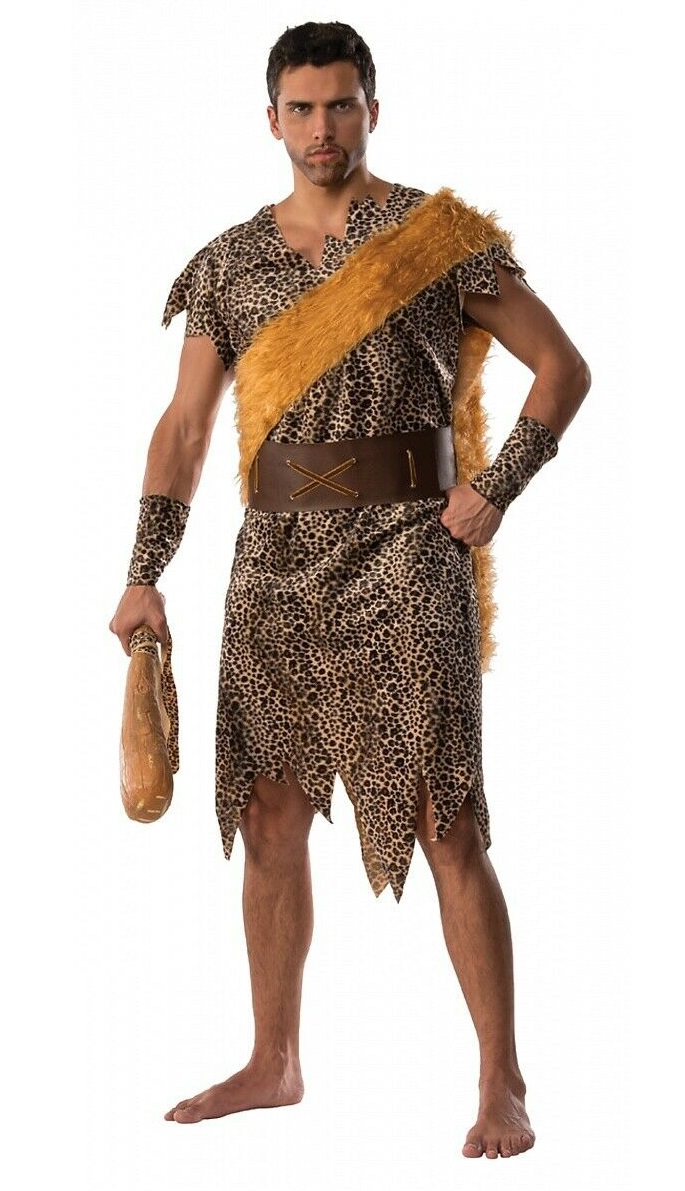 Caveman Woman Stone Age Barbarian Costume Earrings