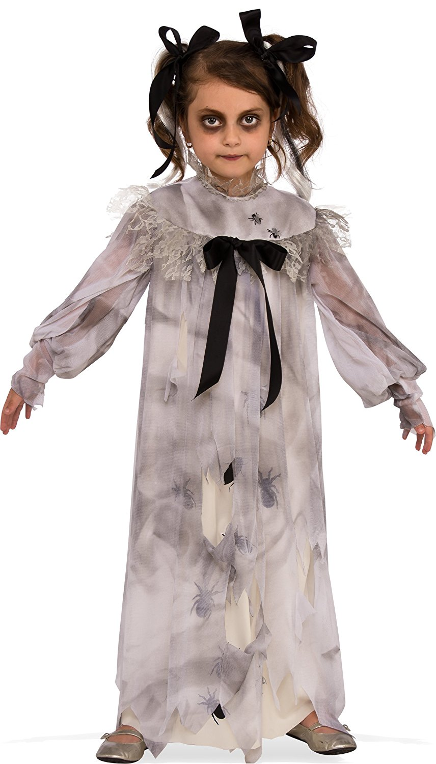 Halloween Costumes For Girls Scary.Details About Sweet Screams Dress Creepy Doll Scary Little Girls Child Halloween Costume Sm Lg