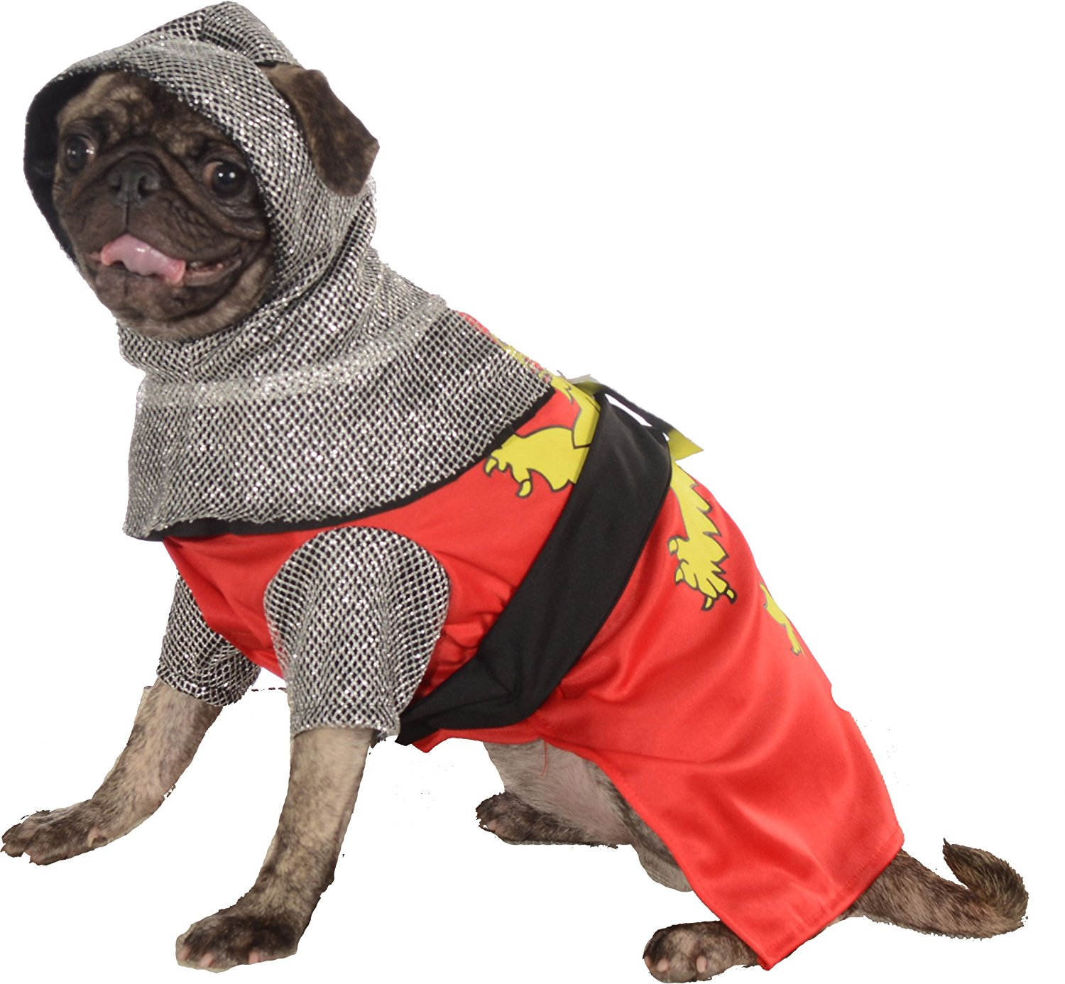 Responsive image  sc 1 st  eBay & Sir Barks-A-Lot Knight In Shining Armour Pet Dog Halloween Costume ...
