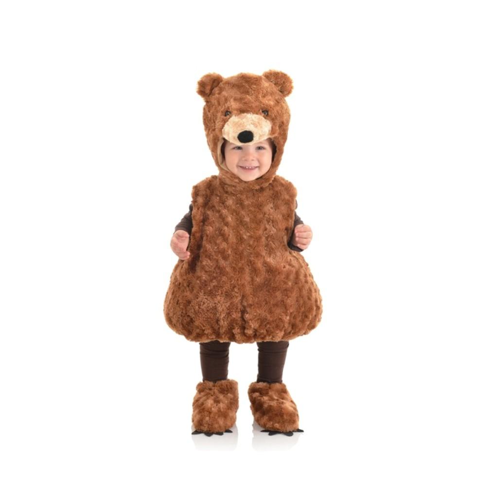 Panda Bear Plush Halloween Costume Jumpsuit Baby Toddler Sz 18-24 months NWT