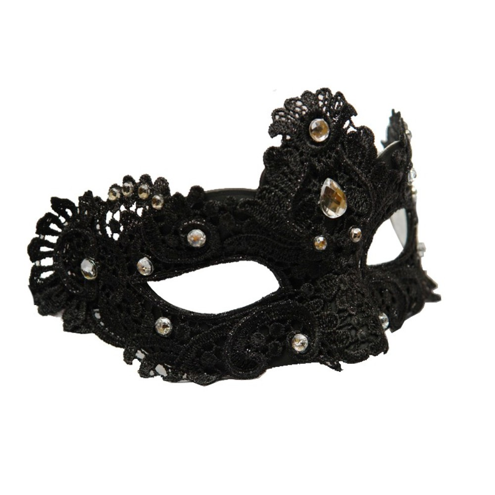 8pcs Unisex Black Masquerade Ball Mask Venetian Party Prom Holiday Eye Masks