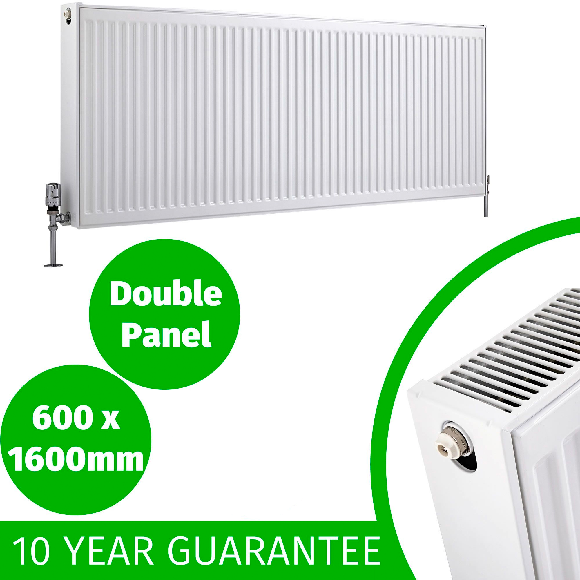 Compact Convector Radiator White Type 11 21 22 400mm 600mm Central ...