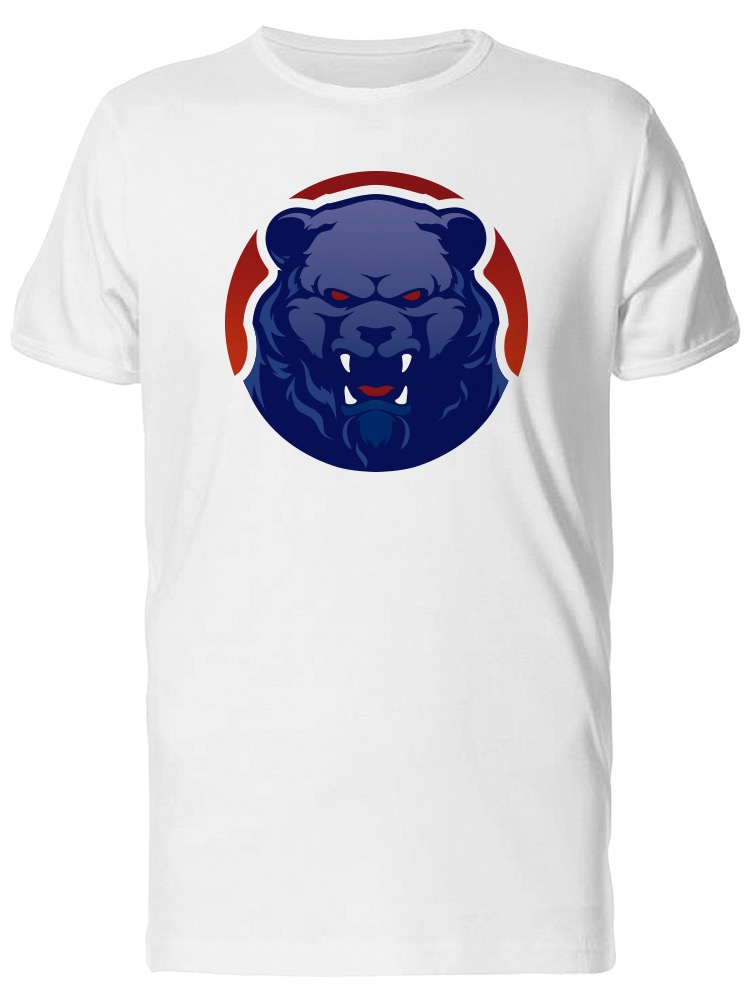 Details about Angry Grizzly Bear Mascot Men's Tee -Image by Shutterstock