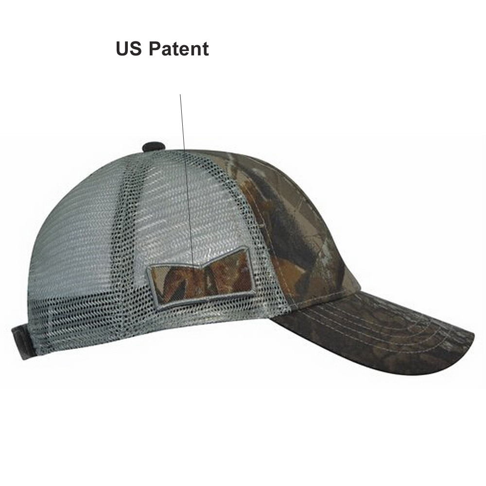 KC Caps Unisex Hunting Cap Constructed Camouflage Hat Visor with ... b04f92141ea6