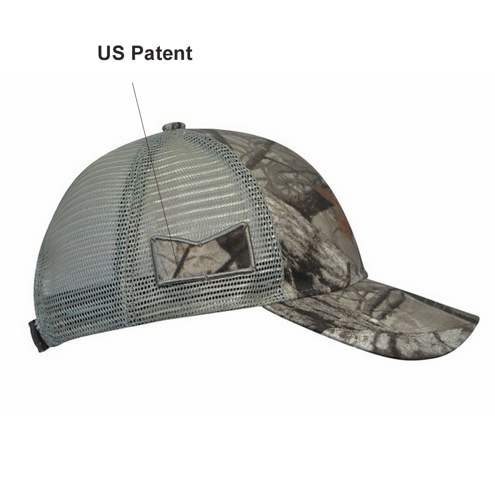 KC Caps Unisex Hunting Cap Constructed Camouflage Hat Visor with ... ab4a6e2ade8