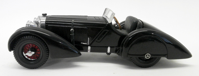 MCC 1 24 Moulé Sous Pression-J25APR2 MERCEDES SSK 1932 ROADSTER en Noir