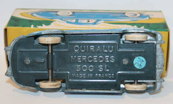 quiralu 1 43 scale mercedes 300 sl 2 tone blue ebay. Black Bedroom Furniture Sets. Home Design Ideas