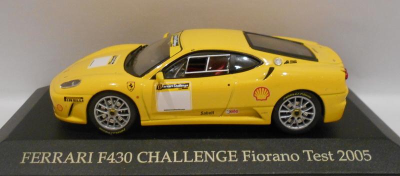 1:43 Ixo Ferrari F430 Challenge Fiorano Test 2005 yellow
