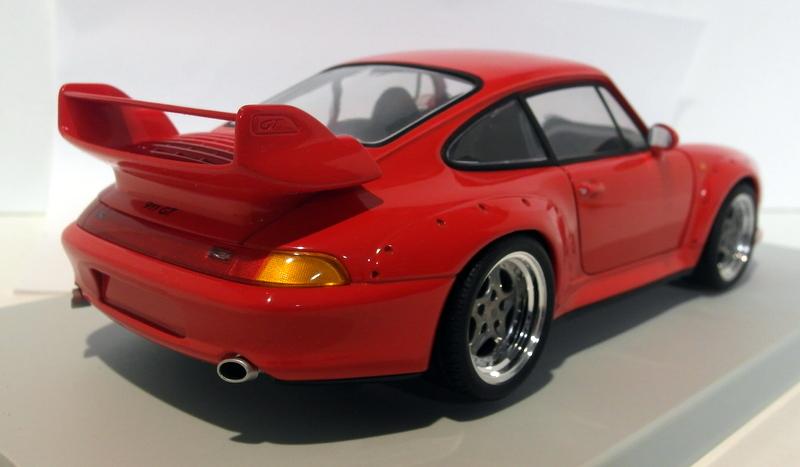 ut models 1 18 scale diecast 27833 porsche 911 gt2 993 red ebay. Black Bedroom Furniture Sets. Home Design Ideas