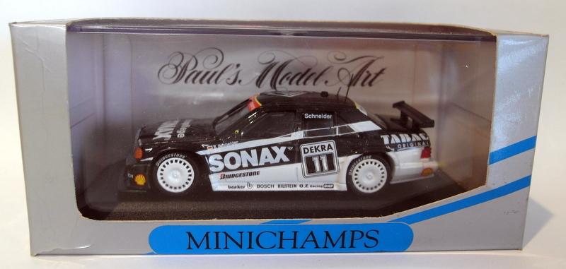 Minichamps-1-43-Scale-diecast-430-933202-Mercedes-190-E-KI-1-DTM-93-Schneider
