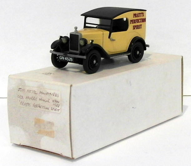 Jem Metal Miniatures 1 43 Scale CR2 - 1933 Morris Minor Van - Pratt's